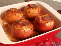 Oven Baked Apples Recipe from RecipeTips.com!