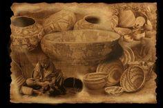 PIMA INDIAN BASKET WEAVERS   Baskets