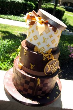 Luis Vuitton cake