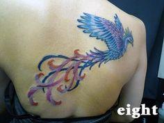 eight tattoo blog: 鳥 鯉