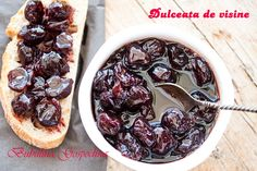 Dulceata de visine Romanian Food, Romanian Recipes, My Recipes, Beans, Vegetables, Vegetable Recipes, Beans Recipes, Veggies