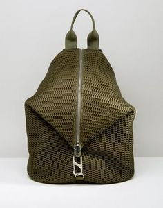 ASOS LIFESTYLE Mesh Dogclip Backpack