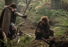 Theon Greyjoy & Osha