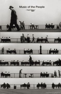 Music of the People, by Harold Feinstein.  Shot at Coney Island, 1950.  Love it!