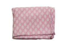 Charlie Ford Vintage - Pink & Cream Cotton Coverlet