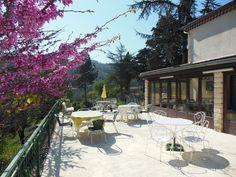 terrasse de l'Eglantine hôtel-restaurant en Cévennes