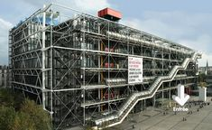 Centre Pompidou, Paris by Piano+Rogers