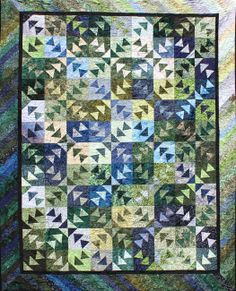 Three Ducks in a Row ~ Quiltworx.com, by Certified Instructor, Shirley Scott