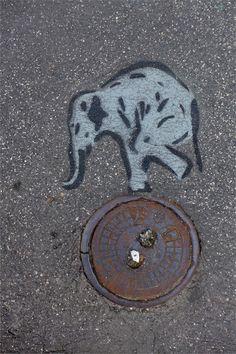 Street Art: un piccolo tesoro nascosto a Milano #streetart jd