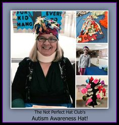 Not Perfect Hats created in honor of Autism Awareness.