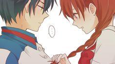 sakuno】   Tumblr Prince Of Tennis Anime, Romance And Love, Prince And Princess, Anime Ships, Cute Love, Anime Love, Anime Couples, Cute Art, Manga
