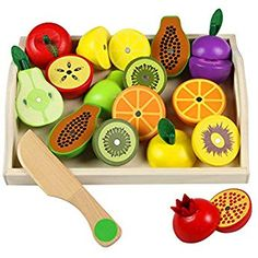 Wooden Fruits Cutting Toy Pretend Food Set Magnetic Wooden Fruits Vegetables Cutting Toy Kitchen Pretend Play Food for Kids Children Play Food Set, Pretend Food, Pretend Play, Toys For Girls, Kids Toys, Children's Toys, Dango Peluche, No Cook Meals, Kids Meals