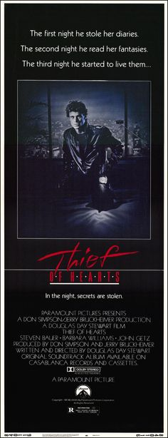 Thief of Hearts (1984) starring Steven Bauer & Barbara Williams
