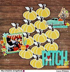 Pumpkin Patch by laura Whitaker #jillibeansoup