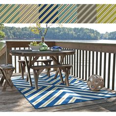 Indoor/ Outdoor Geometric Polypropylene Rug (7'10 x 10'10) | Overstock.com Shopping - Great Deals on Style Haven 7x9 - 10x14 Rugs - $210