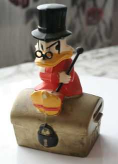 Uncle Scrooge Piggy Bank from Kansallis-Osake-Pankki (KOP)