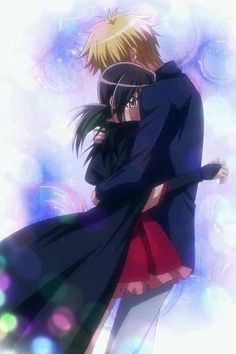 Usui and Misaki. [Maid-Sama] I loved this anime but they NEED to make a season 2 or I will die