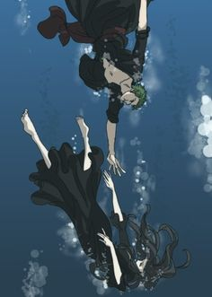 I'll always save you - Zoro and Robin