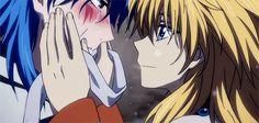 Akatsuki no Yona / Yona of the dawn anime and manga OAD / OVA || Zeno's Arc. Yellow dragon Ouryuu and Abi the blue dragon Seiryuu. This is so sweet ;w;