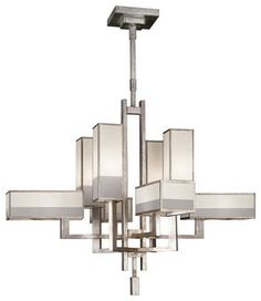 Perspectives Silver Chandelier, 733840-2ST