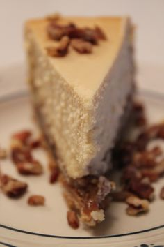 Pecan pie cheesecake :-)