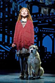 "Annie Broadway Lilla Crawford | Lilla Crawford as the title character in ""Annie."""