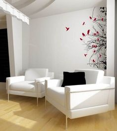 cute wall decals for living room