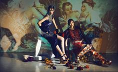 visual optimism; fashion editorials, shows, campaigns & more!: bean and gao jie by man tsang for marie claire hong kong october 2013