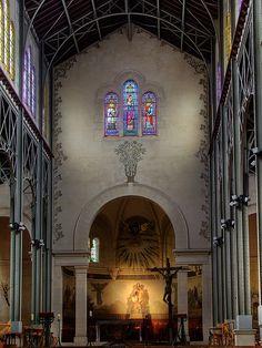 Paris - Notre-Dame-du-Travail de Plaisance , Pernety