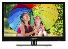 """MEDION LIFE P13166 LED-Backlight TV 39,6cm/15,6"""" DVB-T2 HD Triple Tuner PVR A+; EEK A+sparen25.com , sparen25.de , sparen25.info"""