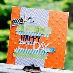 "Bella Blvd blog, ""Happy Father's Day"" card by Kimberly Neddo"
