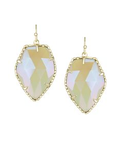 Kendra Scott Drop Earrings #PInAtoZ Have these, love these. Always get compliments on them!