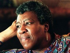 """""""Octavia Butler is well-known for her science fiction writing, which included ambiguous themes around race & sexuality. She was raised by her mother & father, who worked as a maid & shoeshiner, respectively. At the age of 12, Butler's writing began to blossom after taking an interest in sci-fi films."""" http://www.glaad.org/2010/03/01/a-look-back-at-black-history-month-famous-black-lgbt-writers"""