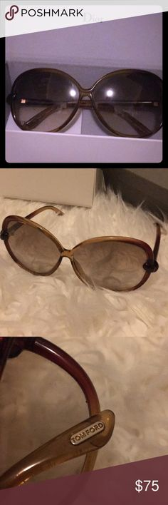 Tom Ford Sunglasses Oversized kinda fabulous Tom Fords. I don't have original packaging but will send them in Dior box Tom Ford Accessories Glasses