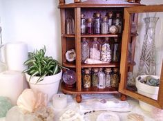 ॐ | my little vintage herb cabinet ✨