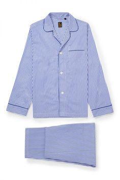 Marlon Womens Pure Cotton Short Sleeve Traditional Pyjamas