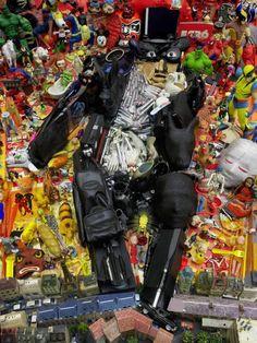 Anamorphosis Garbage Art of Bernard Pras