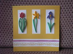 spring flowers - Quilled Creations Quilling Gallery