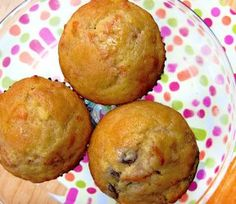 Wortel en rozijnen muffin