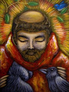 st francis of assisi | ... not a print signed and dated in the back more of st francis of assisi