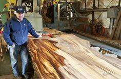Sawing Koa Logs ~ Hearne Hardwoods Inc.