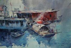 direk kingnok watercolor artist - Căutare Google