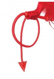 Red Devil Tail Whip Accessory