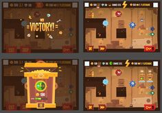 King of Thieves pre production graphics on Behance
