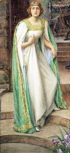 The Lady of Shalott (Tennyson) - Wikipedia