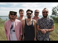 Session #63 Local Natives - Heavyfeet #berlinsessions #melt! #melt #melt2013 #acoustic #session #sunglasses #music #localnatives #akustik #shirt