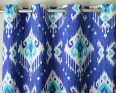 Hey, I found this really awesome Etsy listing at https://www.etsy.com/listing/118407748/curtain-pair-of-50-wide-ikat-rod