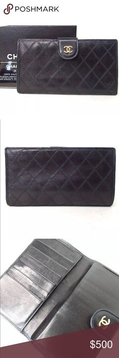 100% Chanel Walker Clutch with Box and certificate Beautiful 100% Authentic guaranteed Chanel wallet Clutch. CHANEL Bags Wallets