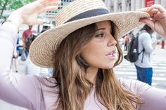 New York – Lady Style, canotier, pregnancy Loreto Gordo, Made in Style