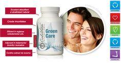Ingredientul principal din Green Care este lucerna, excelentă pentru detoxifiere şi alcalizare, datorită conţinutului său ridicat de clorofilă. Este o adevărată magazie de nutrienţi: conţine câteva vitamine (C, D, E, K, B), betacaroten, minerale (calciu, fier, potasiu, fosfor) şi aminoacizi esenţiali, care toţi stimulează sănătatea proceselor fiziologice din organism. Convenience Store, Products, Convinience Store, Gadget